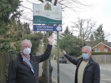 Cllr Andrew Scarth and Cllr Keith Martin